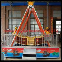 China 12 seats fiberglass factory directly supply Carnival exciting pirate ship with trailer for sale on sale