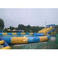 Wholesale 15m Dia. Pool Kids N Adults Big Inflatable Water Park On Land For Outdoor Rental Business from china suppliers