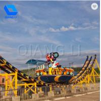Wholesale Simple Operate Amusement Park Thrill Rides 24 Persons Capacity Swing Flying UFO Rides from china suppliers