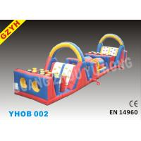 Wholesale 1000D PVC Playground Inflatable Obstacle Courses YHOB-002 for Kids from china suppliers