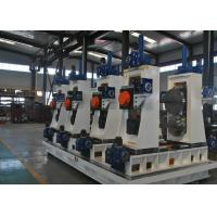 Buy cheap Full Automatic Square Tube Mill Line ERW Pipe Making Machine 30-80m/min from wholesalers