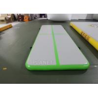 3.5m Air Floor Tumbling Mat / Inflatable Air Jump Track For Gymnastics