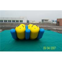 Buy cheap 4 Seat Double banana boat on water nflatable Water Sport / Inflatable Trampoline from wholesalers