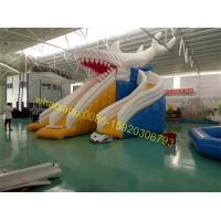 Quality giant shark slide water for sale