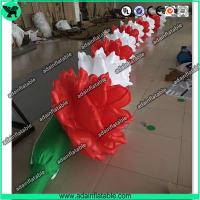 Wholesale 10m Inflatable Rose Flower Chain For Wedding Decoration from china suppliers