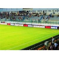 China Waterproof P10 Stadium Perimeter LED Soccer Advertising Boards 128 X 128 Pixels on sale