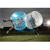 China Adult Human Inflatable Bumper Bubble Balls Transparent With 12 Months Warrenty on sale