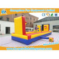 Wholesale Outside Inflatable Sport Games Inflatable Tug Of War With Basketball Court from china suppliers