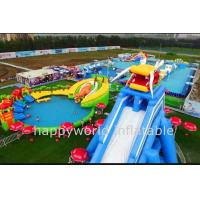 Wholesale Inflatable Aqua Park , inflatable floating water island , inflatable water park playground from china suppliers