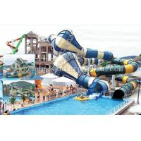 Wholesale Fiberglass Commercial Playground Equipment Long Funny For Aqua Fun Park from china suppliers