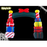 Wholesale 5m(W)*4m(H) Inflatable Christmas Arch for Christmas Decoration from china suppliers