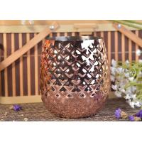 Quality Machine Made Luxury Pineapple Metal Candles Holders Home Decorative for sale