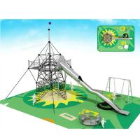Wholesale Commercial Custom Outdoor Playsets Stainless Steel Slide Long Service Life from china suppliers