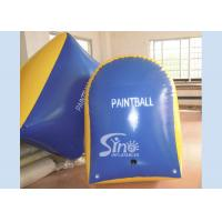 Wholesale Customized Tomstone Inflatable Paintball Bunker with EN71 certificated PVC Tarpaulin from china suppliers