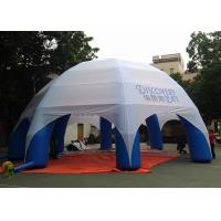 Wholesale 8m Diameter Water Proof Giant Inflatable Dome Tent , Printed Logo Inflatable Tent For Advertising from china suppliers