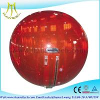 Wholesale Hansel Thick PVC Inflatable Water Rolling Ball For Water Games from china suppliers