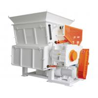 China Universal Plastic Recycle Machine Big Blocks Pallet Sturdy Seratted Pushing Feeder on sale