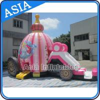 Wholesale Inflatable Princess Bounce House for Girl Birthday Party from china suppliers