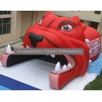 China Portable Inflatable Football Tunnel With Helmet,Inflatable Football Helmet Tunnel For Sale on sale