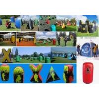 Wholesale Inflatable Paintball Bunker BUN16 with Durable Plastic Ground Stakes  from china suppliers