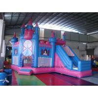 Wholesale Princess Pink Durable PVC Castle Combo Bounce House Rental Business Use from china suppliers