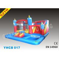 Wholesale 5 IN 1 0.55mm PVC Anti - UV Inflatable Combo Bouncers YHCB-017 with CE / UL Blower from china suppliers