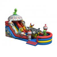 Inflatable Pirate Boat  Bounce 10x5m ET alien inflatable slide Inflatable  Children Castle
