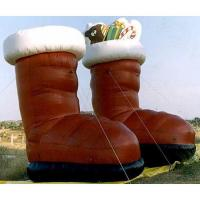 Wholesale Inflatable Santa Claus And Snowman Cartoon Inflatable CHR-1060 from china suppliers