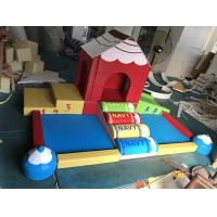Wholesale Climbing Bridge Type Indoor Soft Play Equipment Strongly Attractive For Childrens from china suppliers