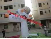 Inflatable taekwondo Tae kwon do model