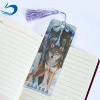 Wholesale Lenticular Printing Services Cartoon 3D Hologram Bookmark For Kids from china suppliers