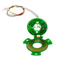 China Light 6mm Thickness Pancake Slip Rings with High Rotating Speed and Stable Contact on sale