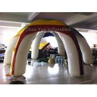 Wholesale Customized Colorful 6 Legs Airtight Inflatable Tent with air pump from china suppliers