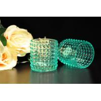 Wholesale Color Sprayed Glass Tealight Candle Holders / Glass Candlestick Holders from china suppliers