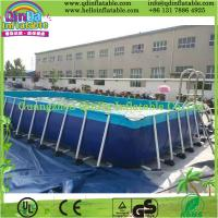 Wholesale Above Ground Swimming Pool, Metal Frame Pool from china suppliers