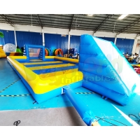Wholesale Wholesale Blow Up Giant Soccer Field Inflatable Football Pitch from china suppliers