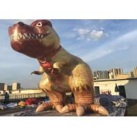 Wholesale Giant Custom Advertising Inflatables / Cartoon Character Inflatable Dinosaur For Decoration from china suppliers
