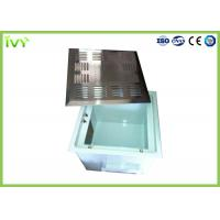 Wholesale Side / Top Blow Hepa Filter Terminal Box , Air Handler Filter Box High Air Flow from china suppliers