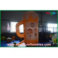 Wholesale Orange Custom Inflatable Products / Inflatable Cup and Beer for Promotion / Party from china suppliers