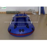Wholesale Pool Rigid Inflatable Boats , Handing Painting Inflatable Pontoon Boats from china suppliers