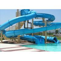 Wholesale Custom Long Steel Fiberglass Water Slides For Water Park Equipment For Adults from china suppliers
