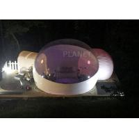 Wholesale Advertising Inflatable Bubble Ball Two Tunnel , Giant Bubble Tent House from china suppliers