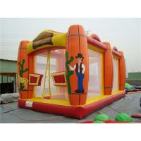 Quality Glof Games Sports Themed Bounce House , Sturdy Indoor Inflatable Bouncers for sale