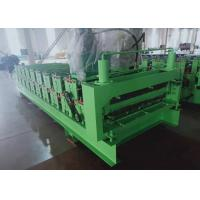 Buy cheap Double Layer Steel Sheet Roof Panel Cold Roll Forming Machine Raw Material Color from wholesalers
