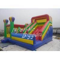 Wholesale Colored Giant Toys Inflatable Bouncy Castles For Kindergarten Playground , ASTM F963 from china suppliers