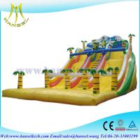 Wholesale Hansel inflatable water park games,inflatable pool slides,kids trampoline/jumping bed from china suppliers