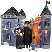 Wholesale halloween inflatable haunted house from china suppliers