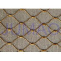 Wholesale Flex Architectural Metal Screen , Customized Architectural Wire Mesh Panels from china suppliers