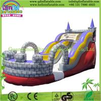 Wholesale Guangzhou QinDa Bouncy Castle Inflatable, Inflatable Slide with CE from china suppliers