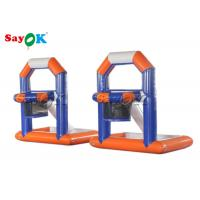 China Fire - Proof Inflatable Sports Games / Creative Kids Inflatable Basketball Water Shooting Game on sale